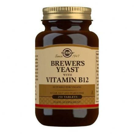 Brewer's Yeast With Vitamin B12 x 250 Tablets; Solgar